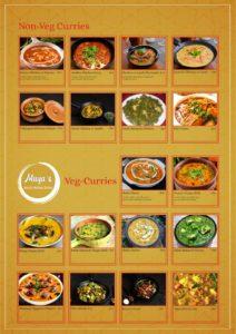 Maya's Bistro Dine In Menu Page 3