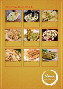 Maya's Bistro Dine In Menu Page 6